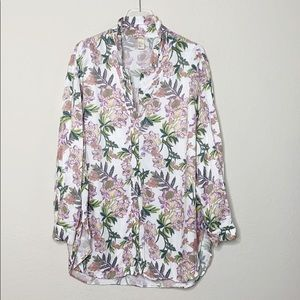 H&M Oversized Floral Button Down
